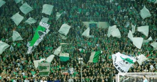 Foot - L1 - ASSE - Les Verts sans leurs supporters à Marseille