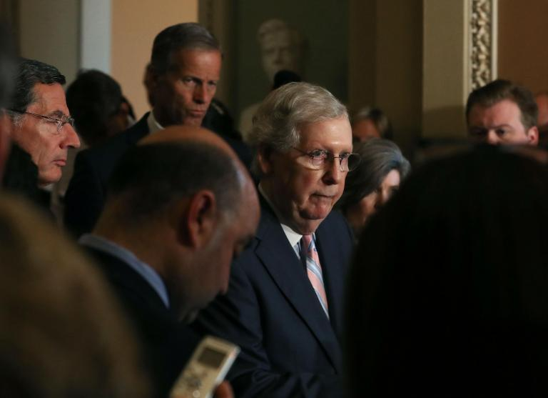 Mitch McConnell Defended by Trump, WSJ After Russia Smears