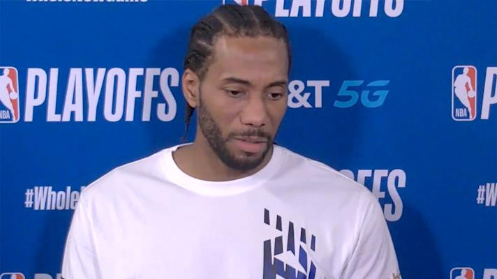 Kawhi Leonard on Clippers blowing 3-1 lead to Nuggets: 'We gotta get smarter'