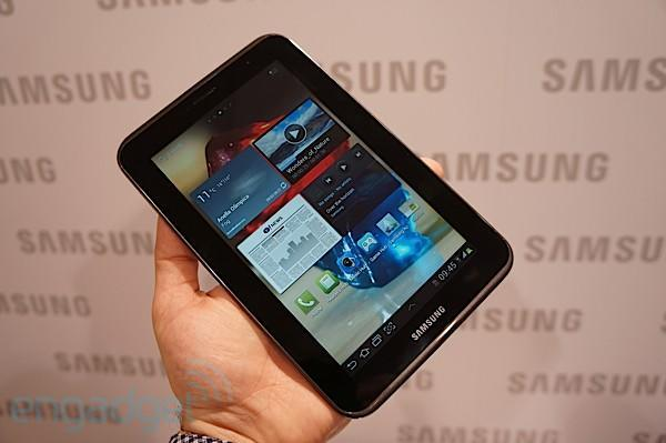 Samsung's Galaxy Tab(s) 2 delayed by, you guessed it, Ice Cream Sandwich