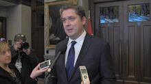 Andrew Scheer comments after question period on SNC-Lavalin controversy.