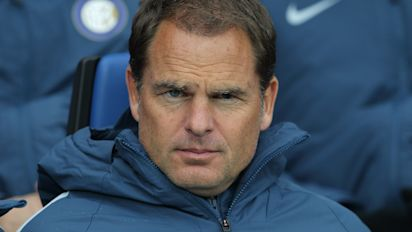 Frank de Boer appointed new Crystal Palace manager on three-year deal