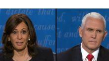 EE.UU. Harris vs. Pence: el insólito detalle que revolucionó el debate de los candidatos a vicepresidente