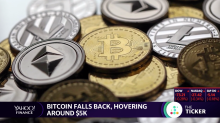 Why Bitcoin is falling back, hovering around $5k