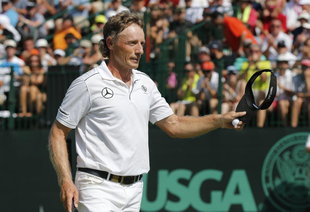 Langer wins Senior British Open by record 13 shots