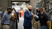 Biden tacks to the center in fight with Trump over Rust Belt moderates. Will it drive away progressives?