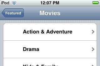 iPhone movie and TV show downloads revealed in rogue ad?