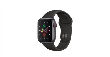 $459 - Apple Watch Series 5 GPS + Cellular, 40mm S