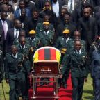 Tears and tributes as leaders, supporters bid farewell to Zimbabwe's Mugabe