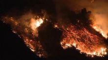 Huge California wildfire in Ventura, Santa Barbara counties has charred 231,700 acres