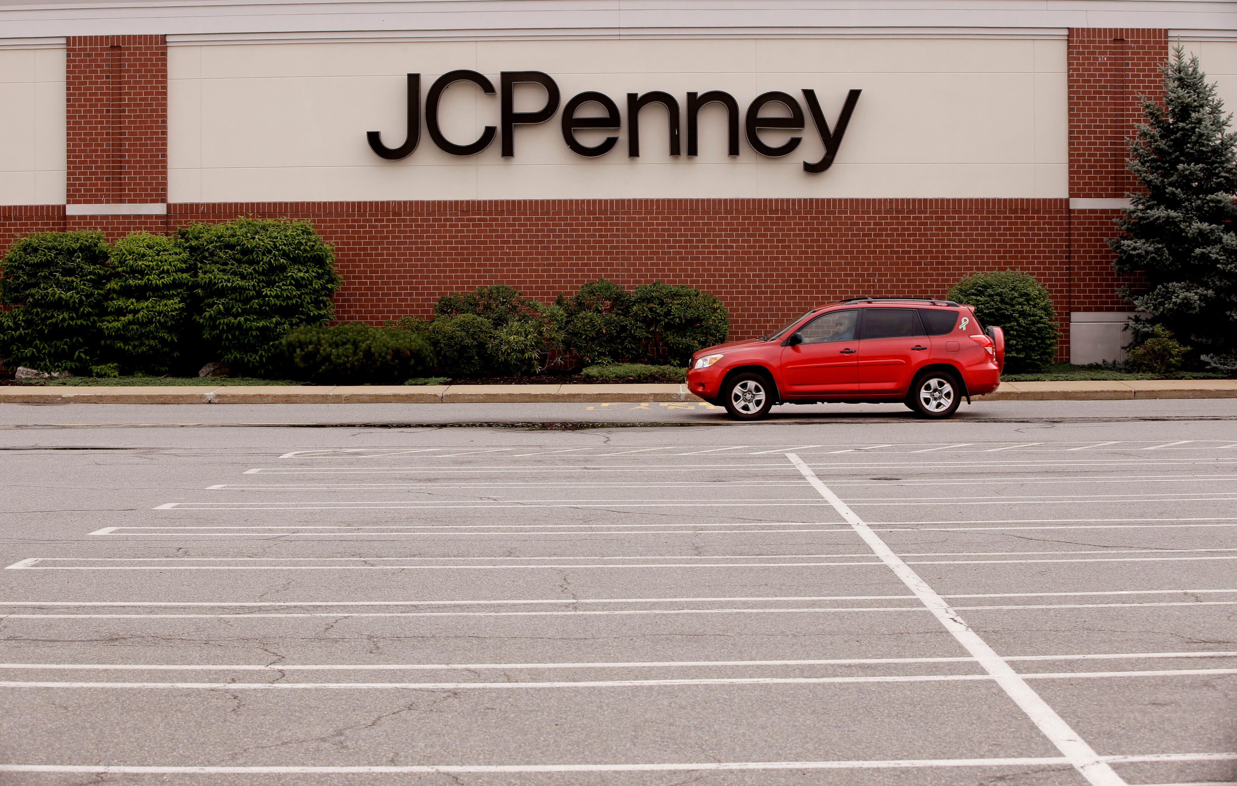 J.C. Penney's stock just fell below $1
