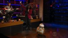 'Star Wars' Favorite BB-8 Gets Funky on 'The Late Late Show With James Corden'