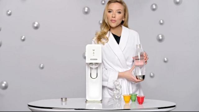 SodaStream Super Bowl Ad Features Scarlett Johansson