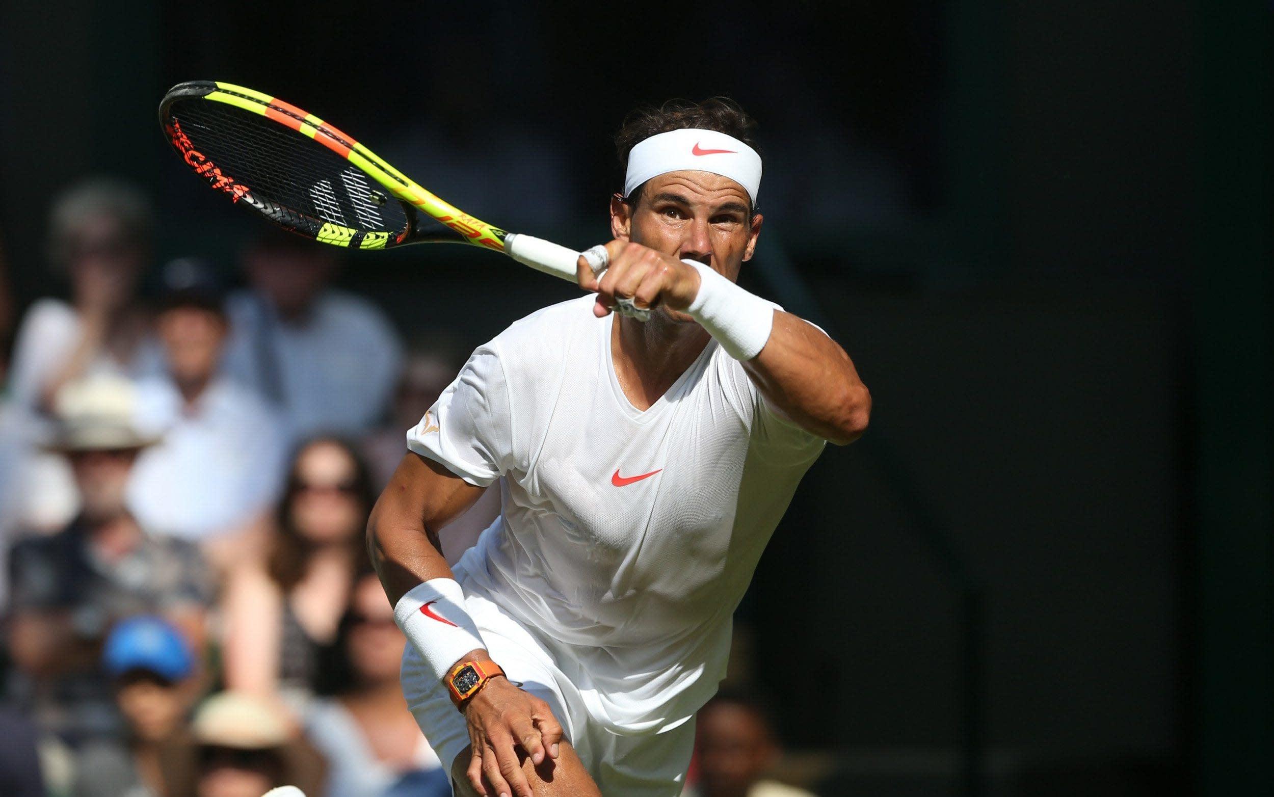 Rafael Nadal vs Mikhail Kukushkin, Wimbledon 2018: live