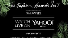 Watch the Fashion Awards 2017 red carpet live on Yahoo Style UK