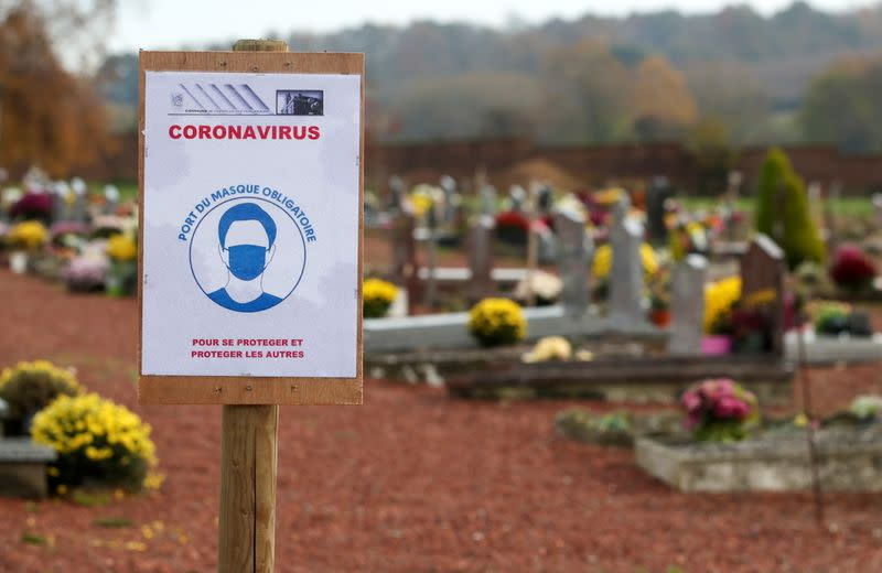 Belgian undertaker buries almost only COVID victims as second wave hits the country