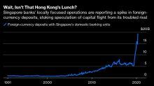 Singapore Won't Feast onHong Kong's Fund Famine