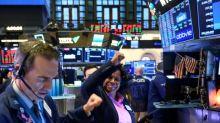 Rebond spectaculaire à Wall Street, où le Dow Jones s'envole de plus de 5%
