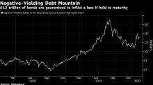 Funds Face Trillion-Dollar Hit on Negative-Yielding Debt Pile