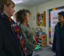 Coronation Street's Yasmeen Metcalfe hears worrying details over Geoff's past