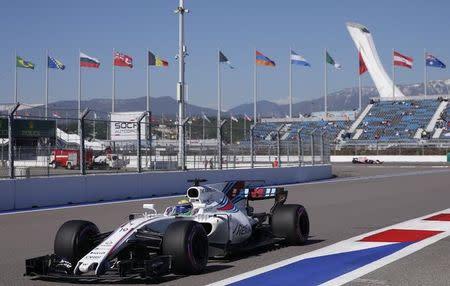 Massa durante o GP da Rússia