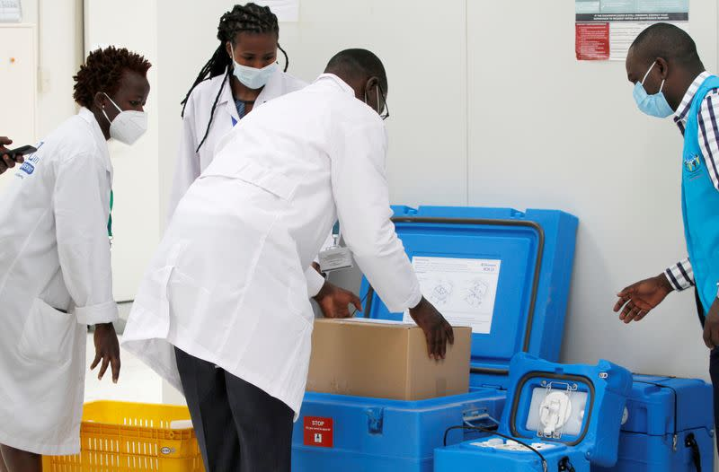 'Coronavirus cannot kill me now';  Africans applaud the launch of COVAX vaccines