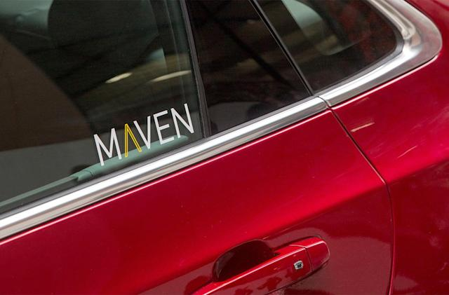GM's 'Maven' car-sharing service lands in San Francisco
