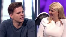 Holly Willoughby left red-faced as Jake Humphrey reveals they 'slept together'