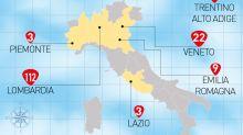 In Italia 155 casi di coronavirus. L'Austria ferma i treni al Brennero poi li fa ripartire