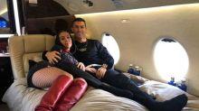 """El lujoso y exclusivo avión privado de Cristiano Ronaldo: una """"rareza"""" de 20 millones de euros"""