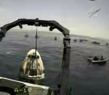 NASA and SpaceX Crews Retrieve Astronauts After Splashdown