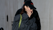 Bella Hadid Sports the 'Shoe of the Year' on Her Last Day in London
