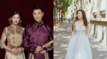 幸福人妻單文柔的出嫁造型非常講究!中西式禮服都很有看點