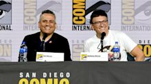 The Avengers crashed the Russo Brothers's Comic-Con panel with adorable video messages