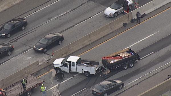 Pa. Turnpike crash causes delays in Willow Grove