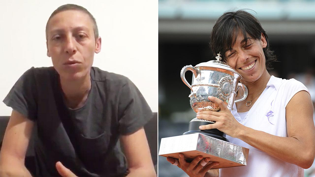 Fans pay tribute after tennis champion's cancer revelation
