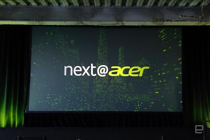 Watch Acer unveil its newest PCs and gaming machines