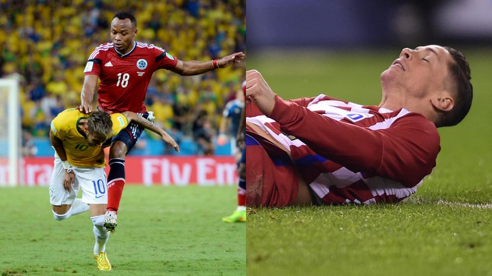 Pai de Neymar defende Fernando Torres e lembra lance do filho com Zúñiga