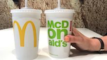 McDonald's new 'eco-friendly' paper straws cannot be recycled