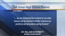 Taft School District responds to shooting