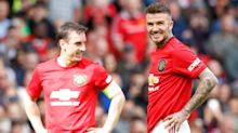 Becks' kitchen antics and Gary Neville to go blond? – Tuesday's sporting social