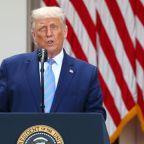 "Trump denies New York Times report on his tax returns; calls it ""fake news"""