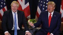 Verpatzte Nachricht: Boris Johnson wollte Trump gratulieren