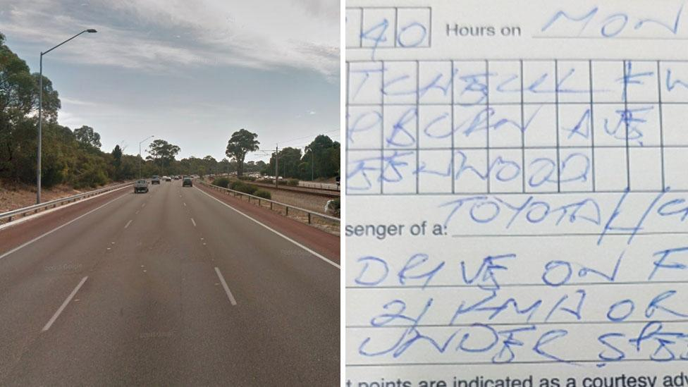 'Can't do the limit, stay off the freeway': Driver fined for going too slowly