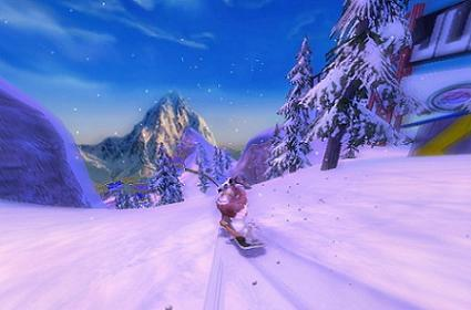 SSX: Blur brings on the crystal clear screens