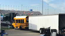 Why an 83-year-old race team owner drives a school bus to the track