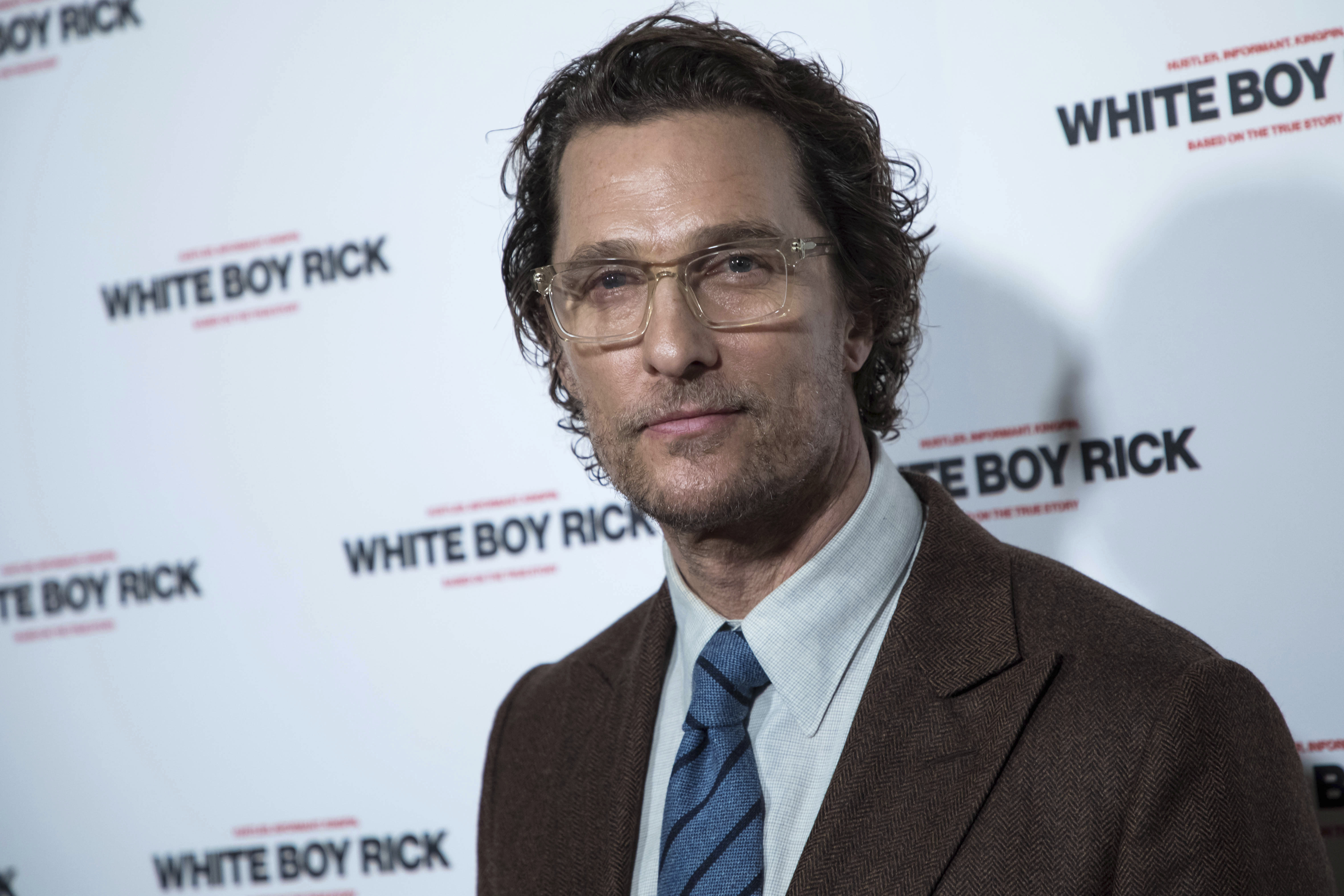 Matthew McConaughey is now a professor at the University ...