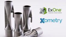 Metall-Binder-Jetting-Technologie von ExOne jetzt auch über Xometry verfügbar