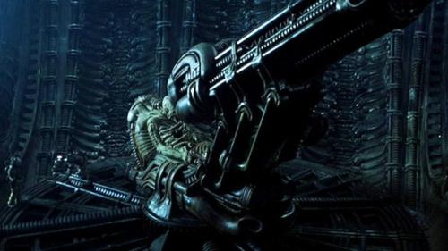 Alien 1979 Space Jockey