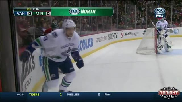 Vancouver Canucks at Minnesota Wild - 03/26/2014